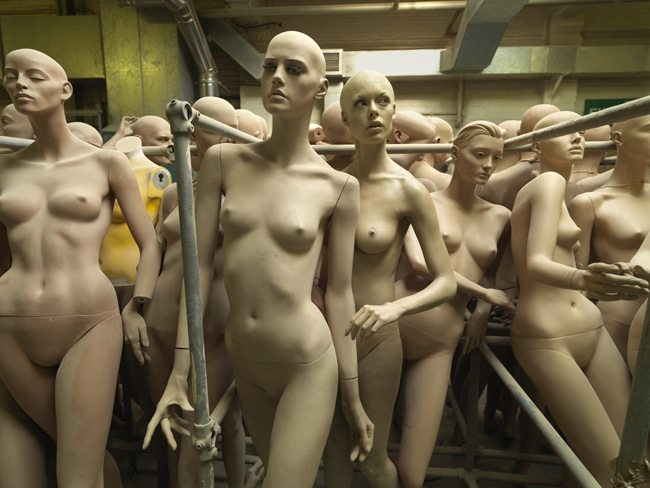 In the Mannequin Factory, 166x126cm