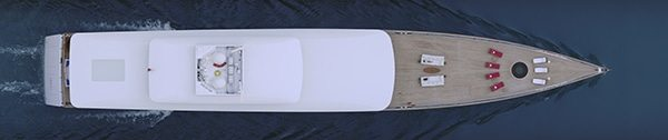 Yacht #1, 203x43cm, Ed. 10+2