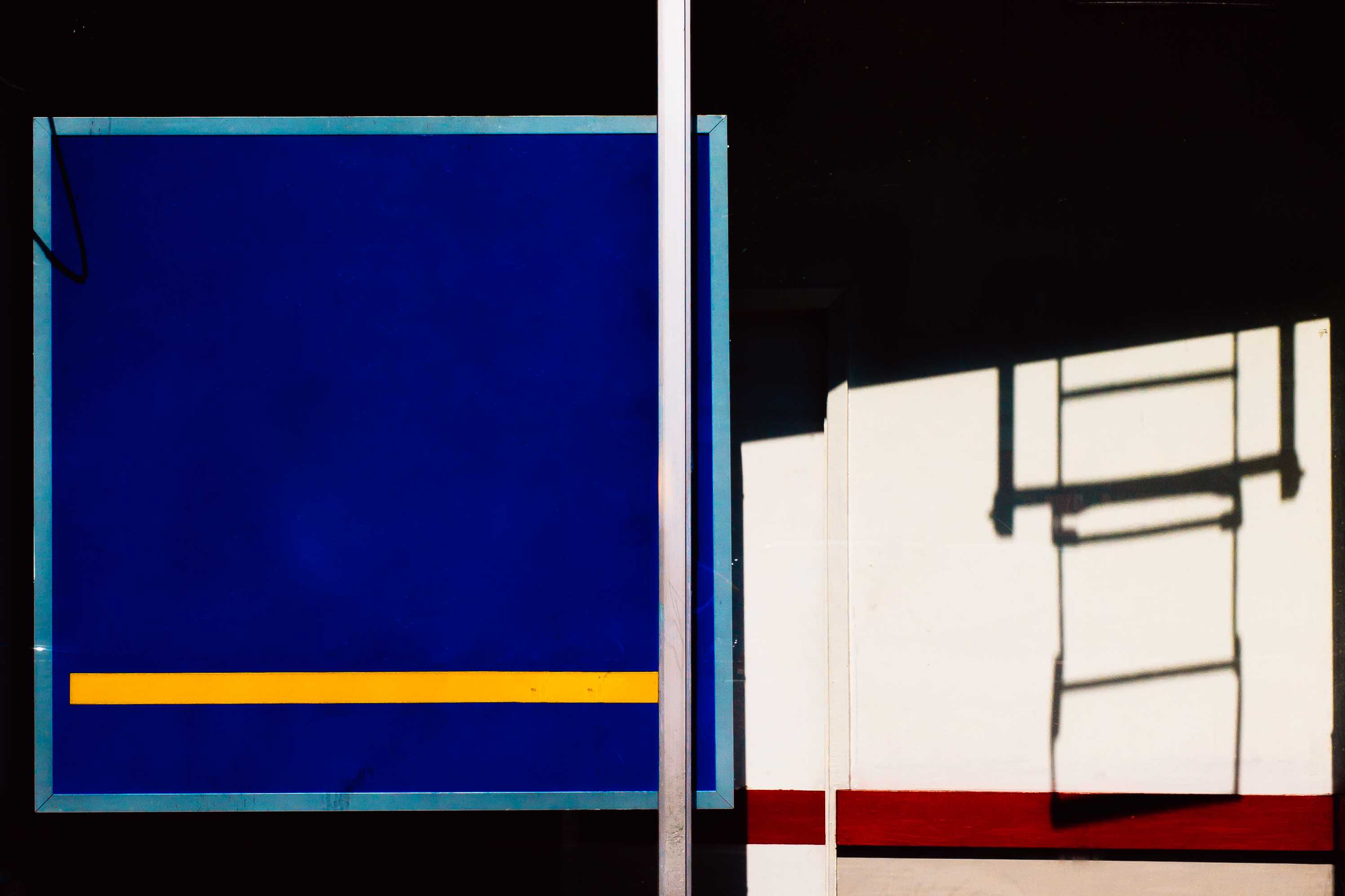 Jesse Willems Mondrian Storefront