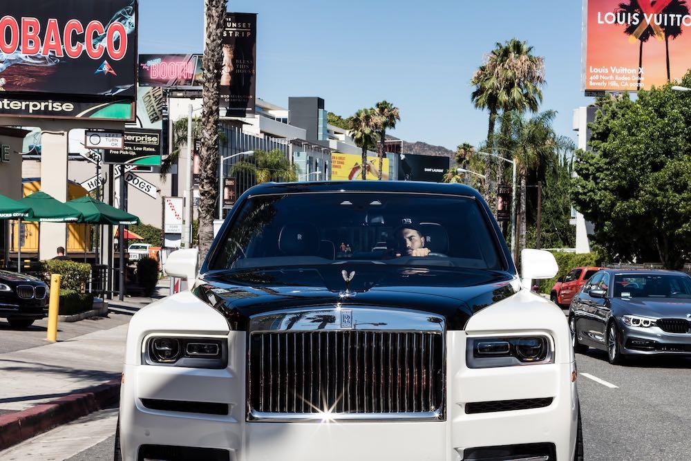 B&W Rolls Royce - West Hollywood, 2019
