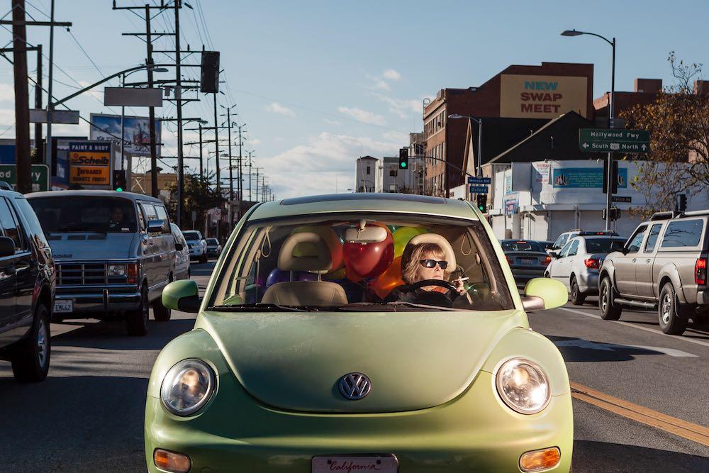 Green Volkswagen - East Hollywood, 2010