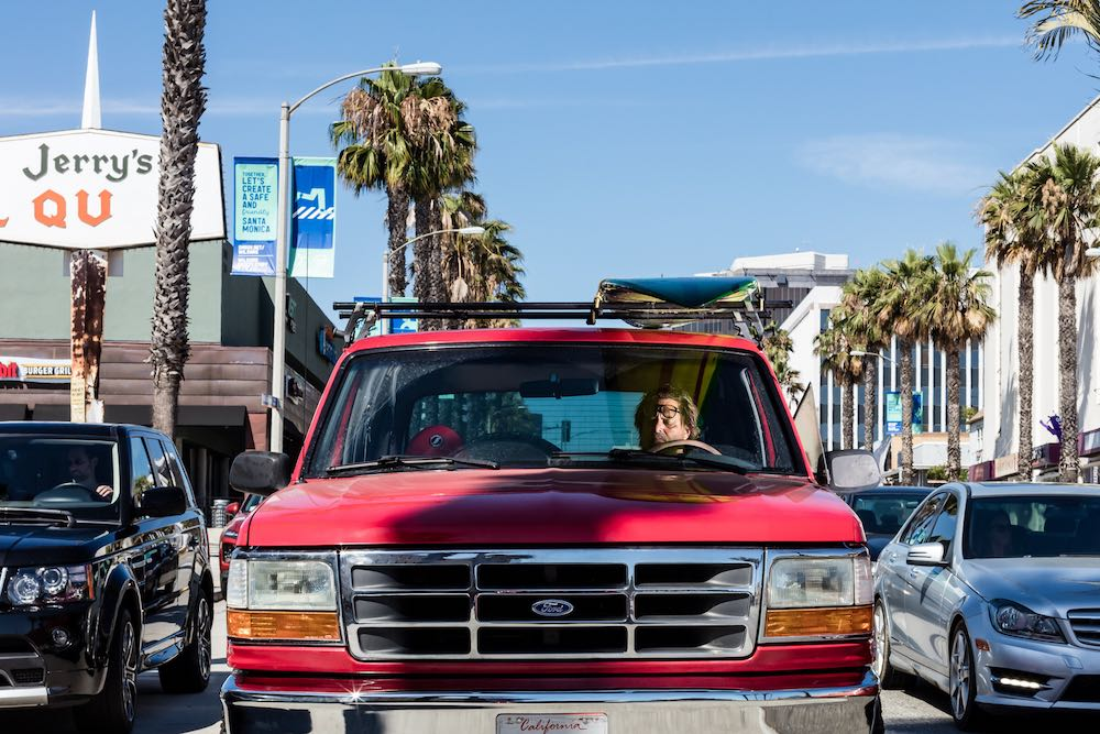Red Ford - Santa Monica, 2019