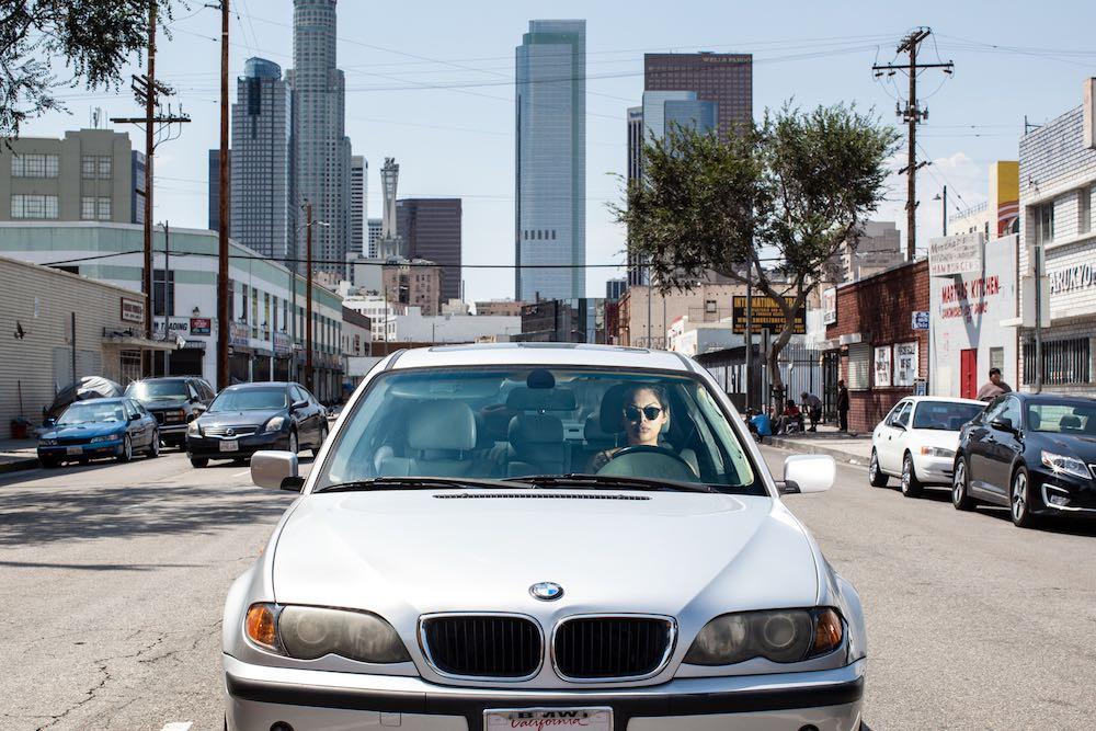 Silver BMW - LA Skid Row LA, 2015